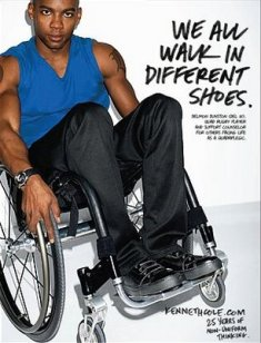 Kenneth Cole Ad: Delmon Dunston