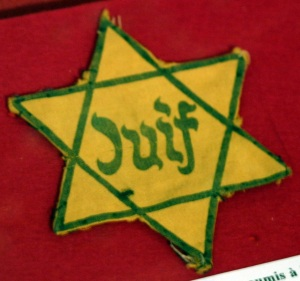 Jewish Disabilities Yellow Badge