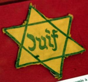 Jewish Disabilities Yellow Badge