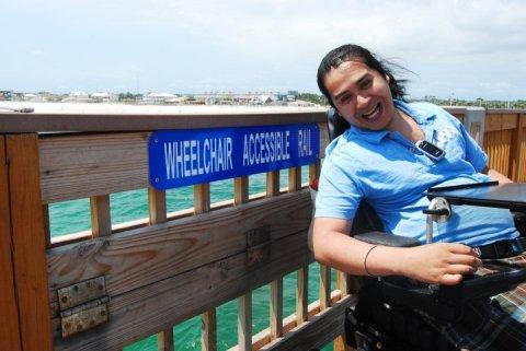Wheelchair Access Pier