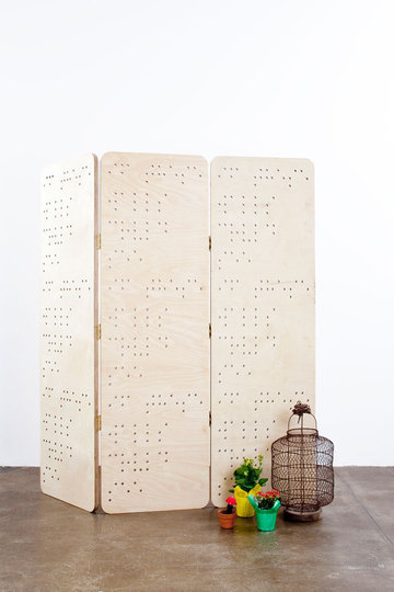 Braille Screen by Danny Greenfield