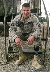 Afghanistan Amputee Soldier Dan Luckett
