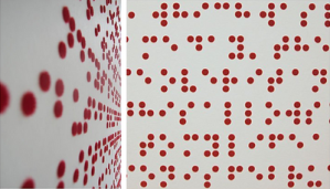 Braille wallpaper