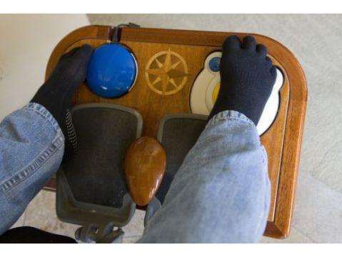 Augie Nieto foot control