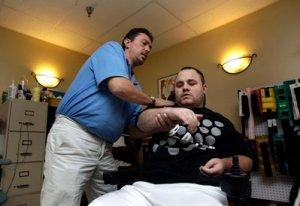 Quadriplegic Adam Martin